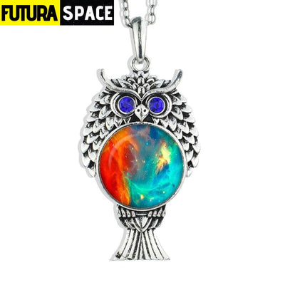 OWL GALAXY NECKLACE - size 11 - 200000162