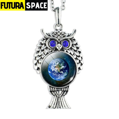 OWL GALAXY NECKLACE - size 2 - 200000162