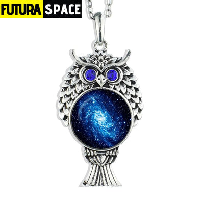OWL GALAXY NECKLACE - size 10 - 200000162