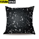 Pillow Case Moon Universe - 45x45cm Single Side / STYLE 13 -