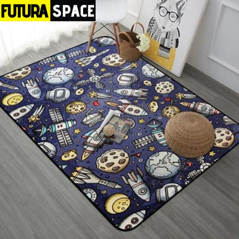 Planet Carpet - Yellow / 40x60cm - 100000392