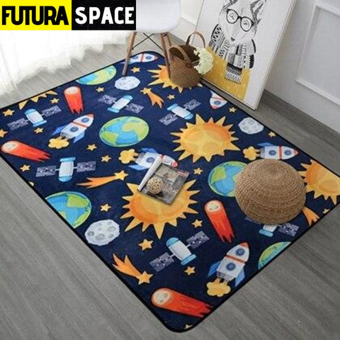 Planet Carpet - Red / 40x60cm - 100000392