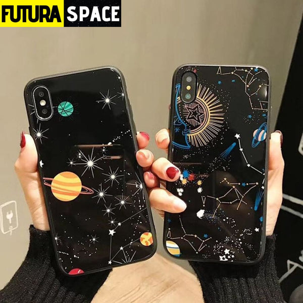 Planet Stars Phone Case For iPhone - 380230