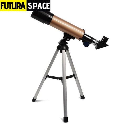 Professional Astronomical Telescope - Gold / China -