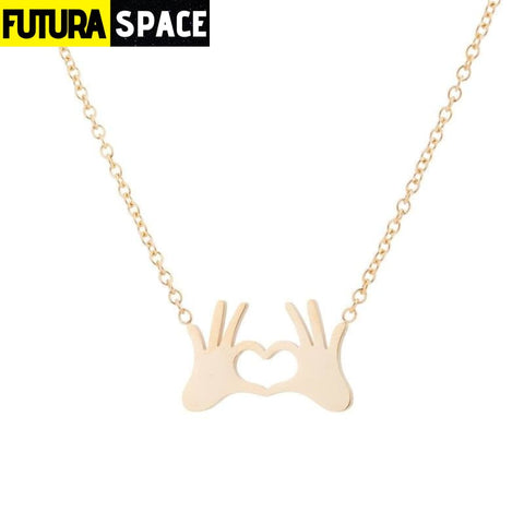 SATURN NECKLACE - Gold Necklaces 1 - 200000162