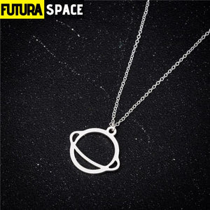 SATURN NECKLACE - 200000162