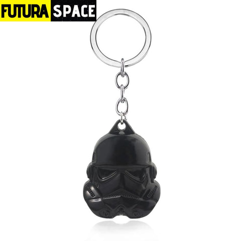 Soldiers Mask Keychains - Coffee - 200000174