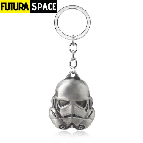 Soldiers Mask Keychains - Dark Blue - 200000174