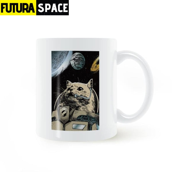 Space Astronaut Cat Mug - 100003290