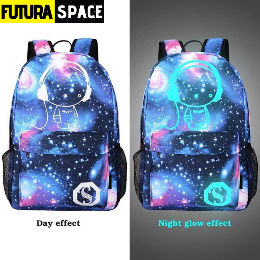 SPACE BACKPACK - Children School Bags Galaxy - 152401