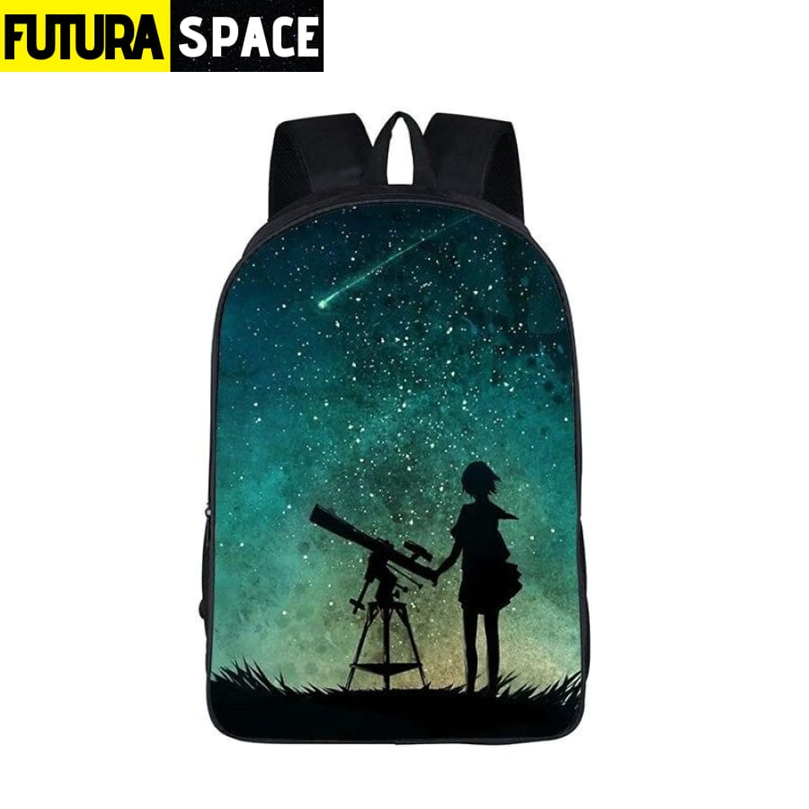 SPACE BACKPACK - Galaxy / Universe / Unicorn - 152401