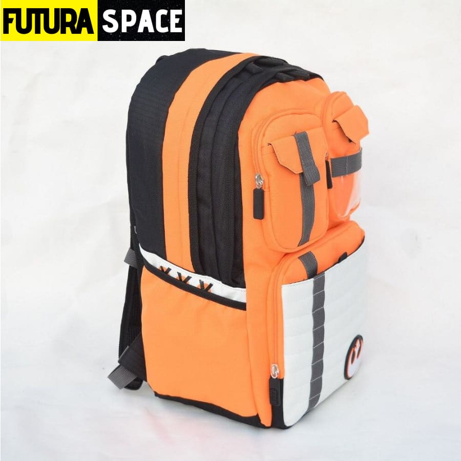 SPACE BACKPACK - Rebels Logo - Orange - 152401