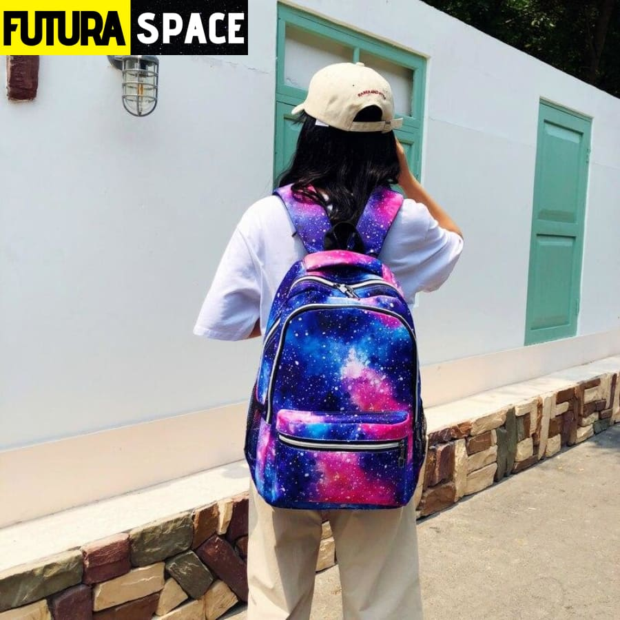 SPACE BACKPACK (School Bag) - 152401