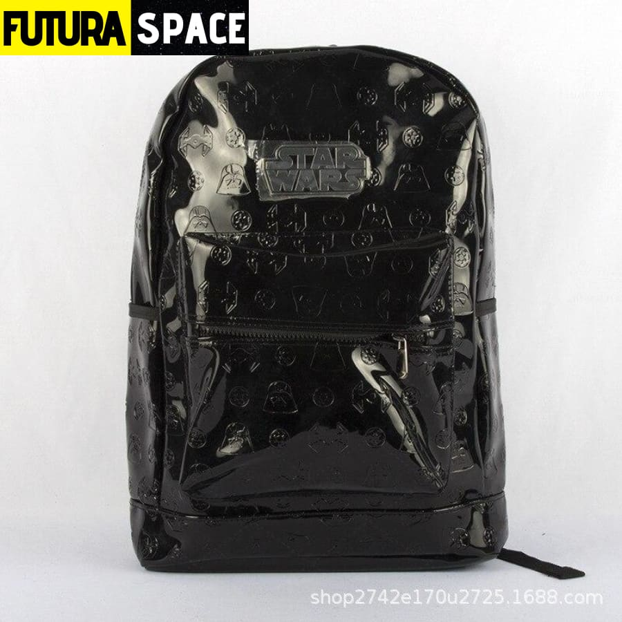 SPACE BACKPACK - Star War Black - Black - 152401