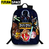 SPACE BACKPACK - Star Wars Print - 14 - 152401