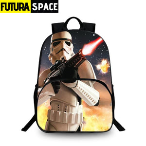 SPACE BACKPACK - Star Wars Print - 152401