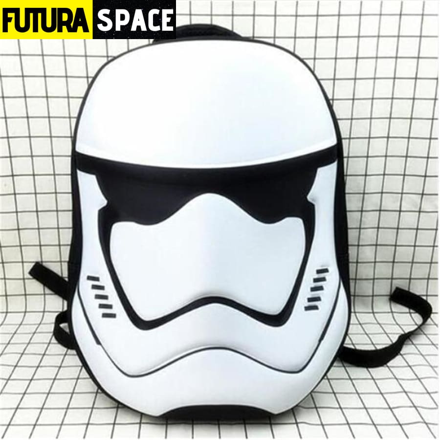 SPACE BACKPACK - Stormtrooper - 01 / 19 inches - 152401