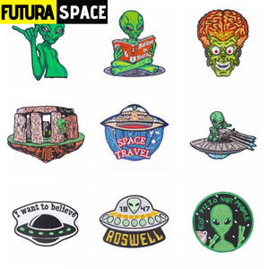 Space Badge UFO - 100005735