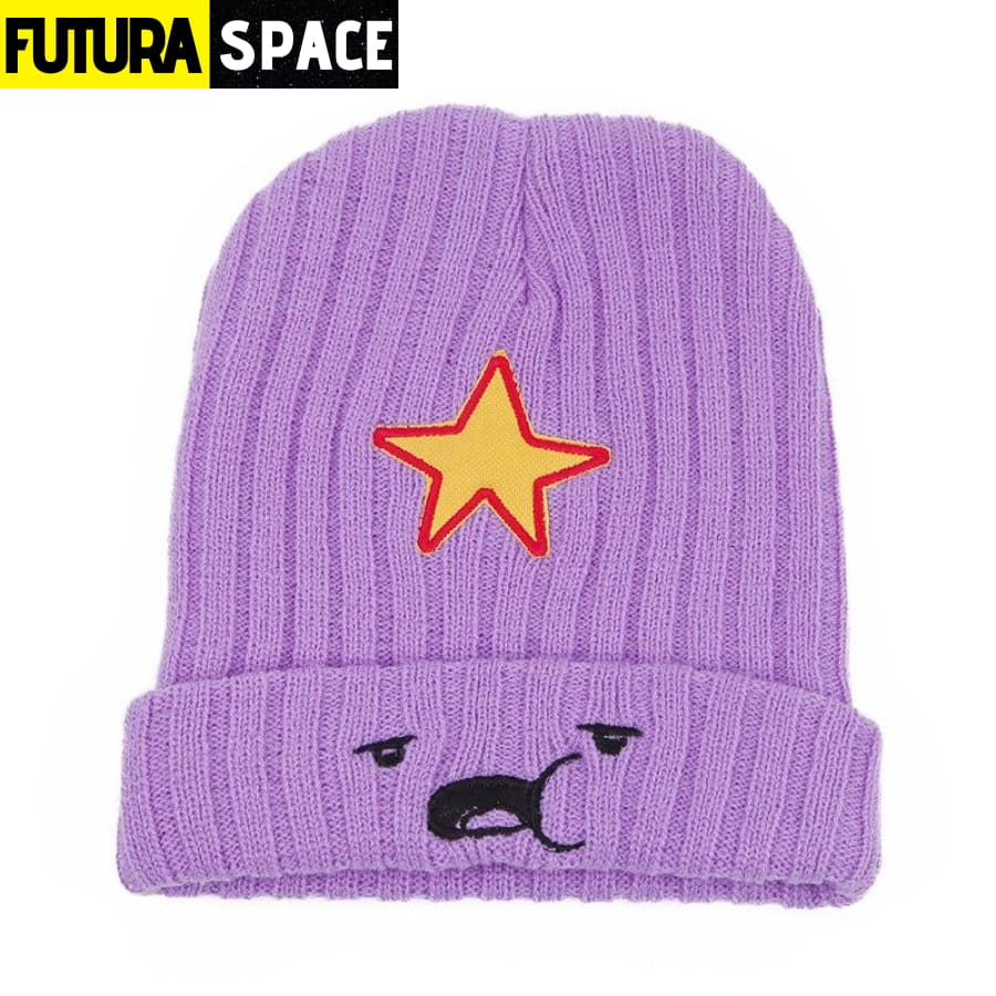 SPACE BEANIES - STAR - Purple - 200000447