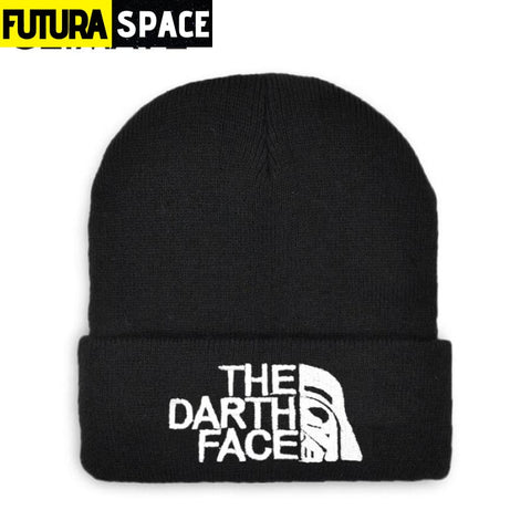 SPACE BEANIES - The Darth Face - Black - 200000447