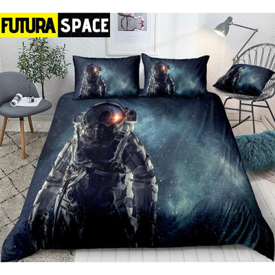 SPACE BEDDING - 3D Astronaut - 01 / US Twin - 40601