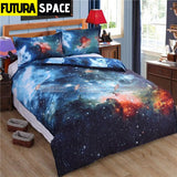 SPACE BEDDING - 3D Hipster Galaxy - 40601