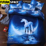 SPACE BEDDING - 3D Hipster Galaxy - 2 / 180X220CM 3PCS -