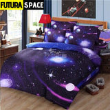 SPACE BEDDING - 3D Hipster Galaxy - 6 / 180X220CM 3PCS -