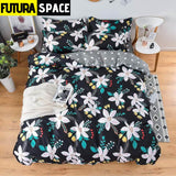 SPACE BEDDING - Astronaut Earth - 20 / single 3pcs 150by200
