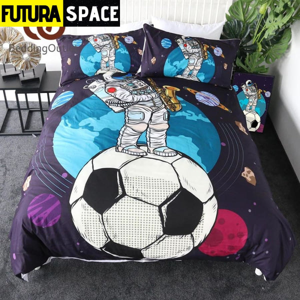 SPACE BEDDING - Astronaut football - 40601