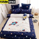 SPACE BEDDING - Egypt Cotton - TZ1 / Twin size 4pcs - 40601