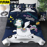 SPACE BEDDING - Funny Set - 1 / AU Single - 40601