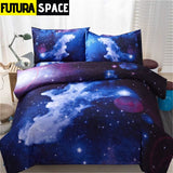 SPACE BEDDING - Galaxy Print - color10 / Twin2Pcs - 40601