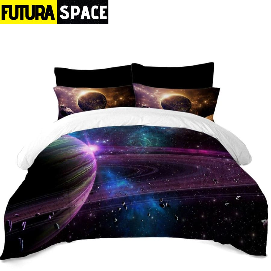 SPACE BEDDING - Outer Space - BS217 / 3Pcs US Twin - 40601
