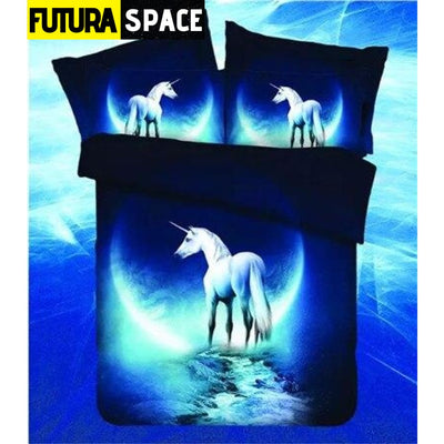 SPACE BEDDING - Outer Universe - LF003 Horse / 4pcs - 40601
