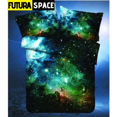 SPACE BEDDING - Outer Universe - LF006 / 4pcs - 40601