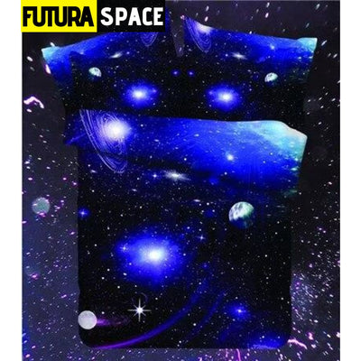 SPACE BEDDING - Outer Universe - LF007 / 4pcs - 40601