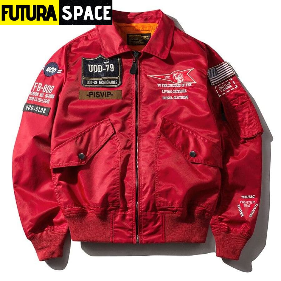 SPACE BOMBER JACKET - 200000798