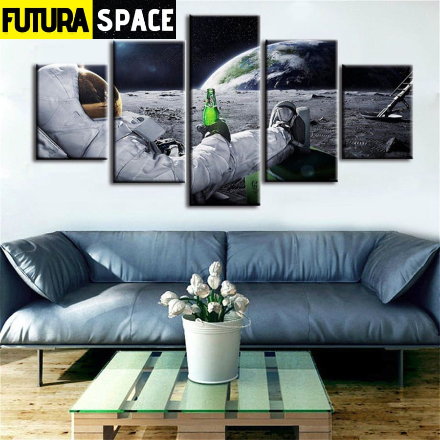 SPACE CANVAS ART - Astronaut - 1704