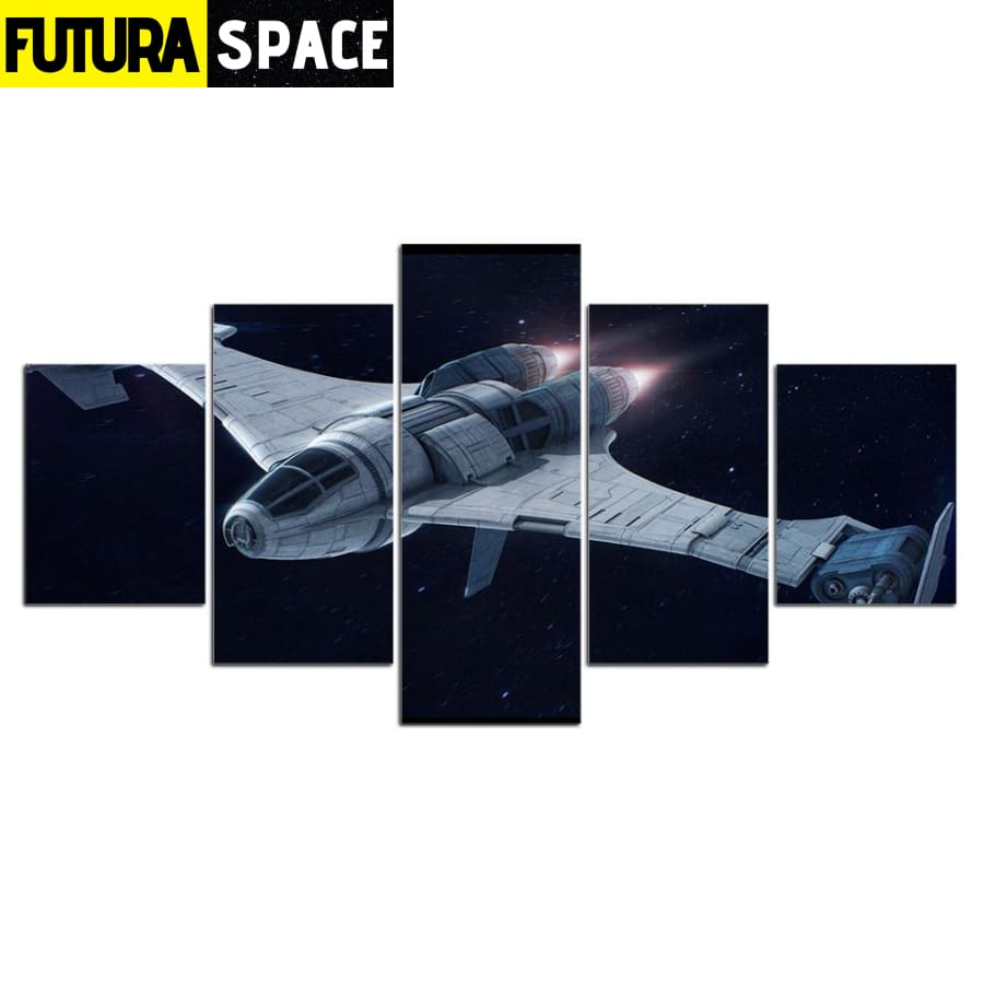 SPACE CANVAS ART - Fighter Spaceship - 1704
