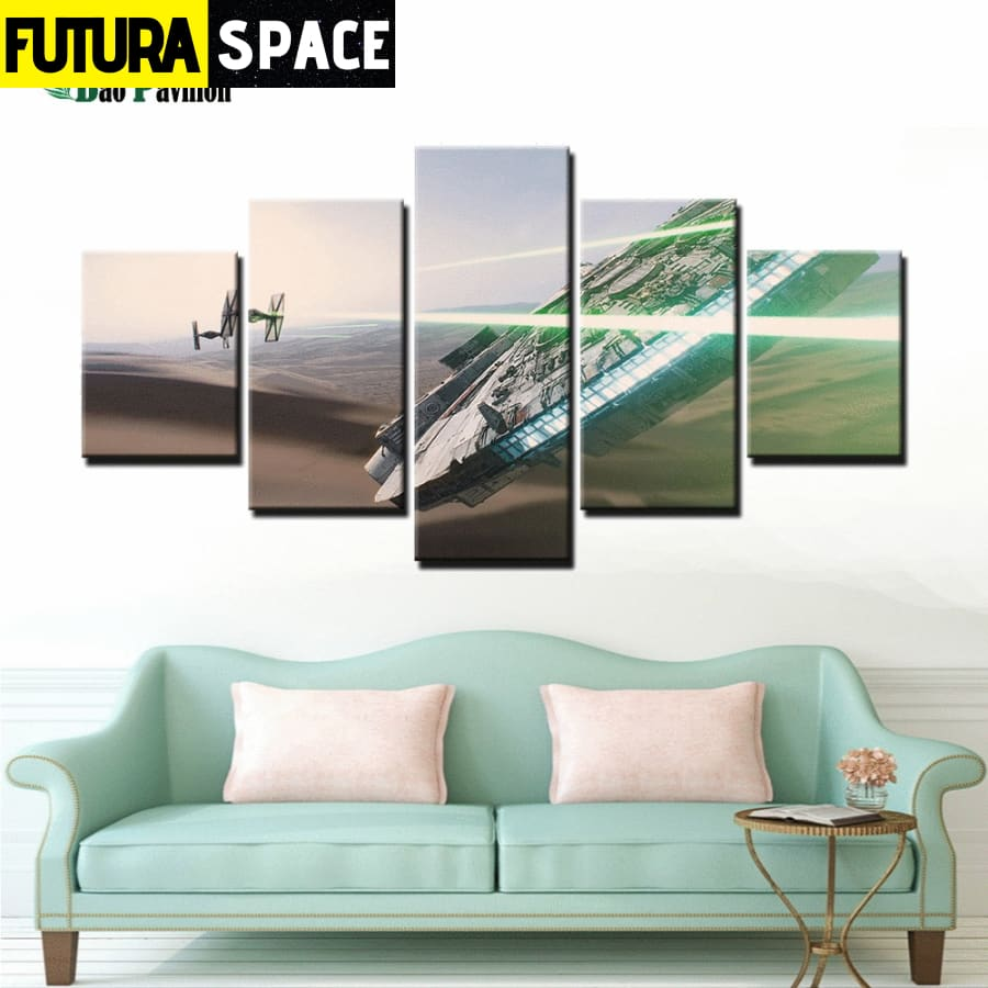 SPACE CANVAS ART - Spaceship - 1704
