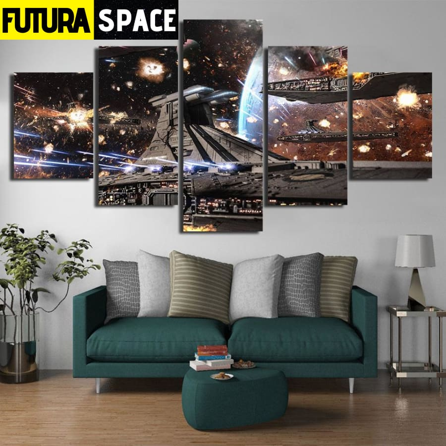 SPACE CANVAS ART - Star Wars - 1704