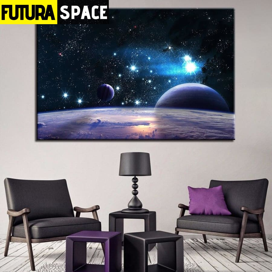 SPACE CANVAS ART - Universe - 1704