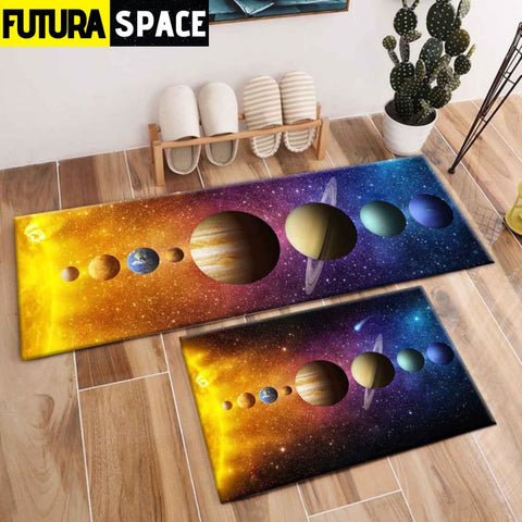 SPACE CARPET - 2Pcs Galaxy Planet - 1060 / 120X40cm and