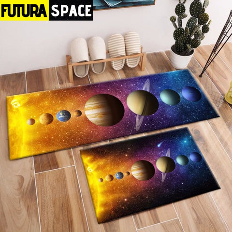 SPACE CARPET - 2Pcs Galaxy Planet - 100000392
