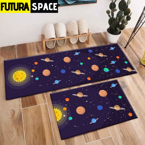 SPACE CARPET - 2Pcs Galaxy Planet - 1054 / 120X40cm and