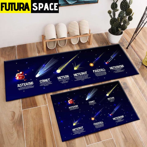 SPACE CARPET - 2Pcs Galaxy Planet - 1031 / 120X40cm and