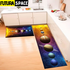 SPACE CARPET - 2Pcs Galaxy Planet