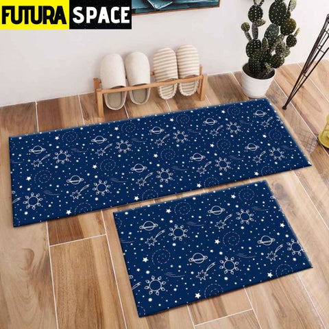 SPACE CARPET - 2Pcs Galaxy Planet - 1056 / 120X40cm and
