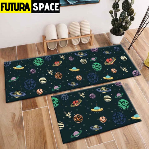 SPACE CARPET - 2Pcs Galaxy Planet - 1053 / 120X40cm and